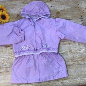 Big Chill Girls purple lightweight jacket. Size 6x